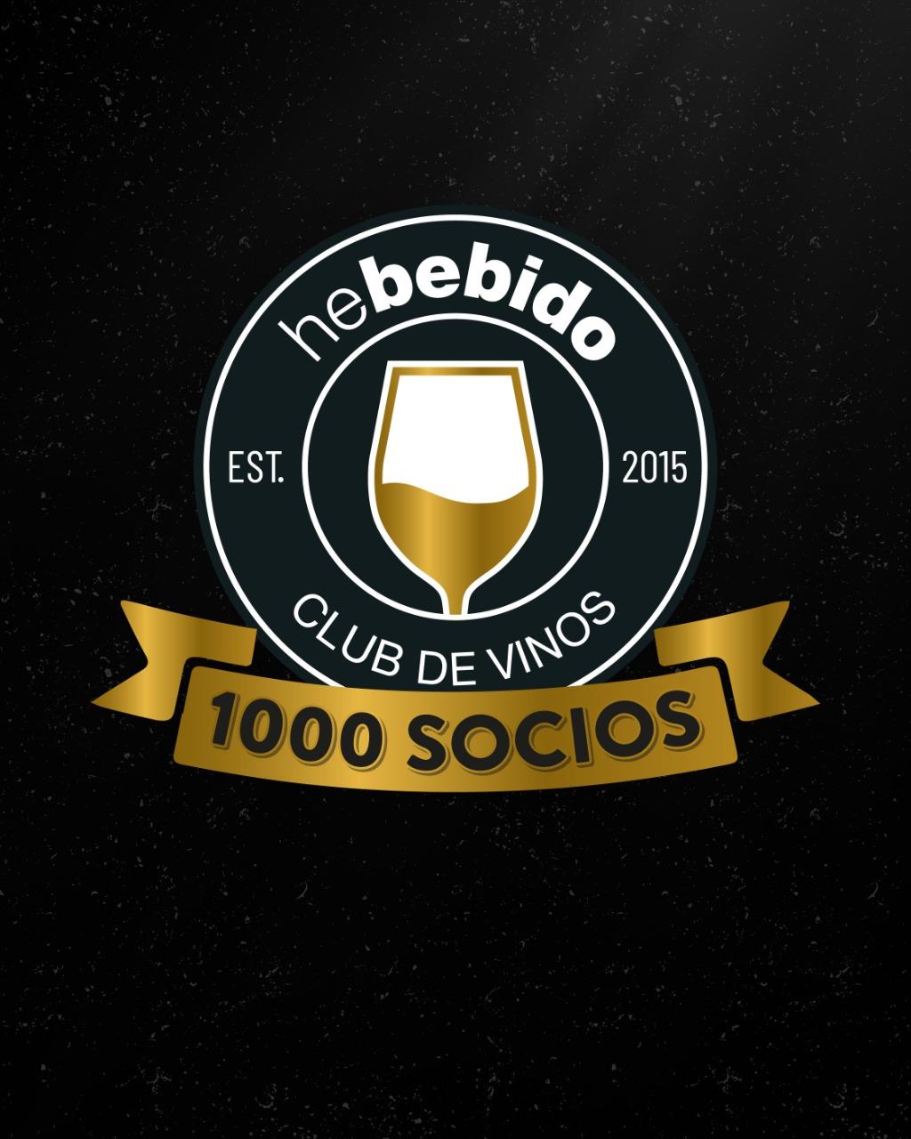 He Bebido, nuestro club alcanzó los 1000 socios!!!