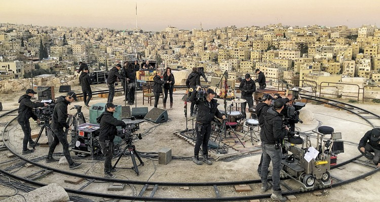 Música y vinos: Coldplay everyday life in Jordania