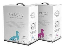 Hoy te presentamos Los Patos Bag in box de cabernet franc joven